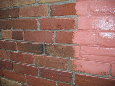 Exterior Brick: Paint Removal
